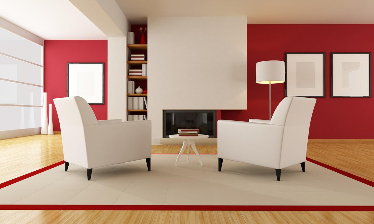 Alegra Promotora – Cómo pintar un salón en dos colores